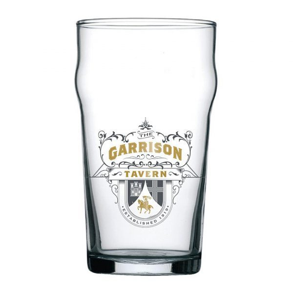 Peaky Blinders Garrison Tavern Pint Glass Iconic British TV