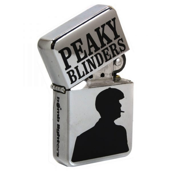 Peaky Blinders Tommy Shelby Windproof Gas Lighter Bomb Lighters Iconic British Gangster TV