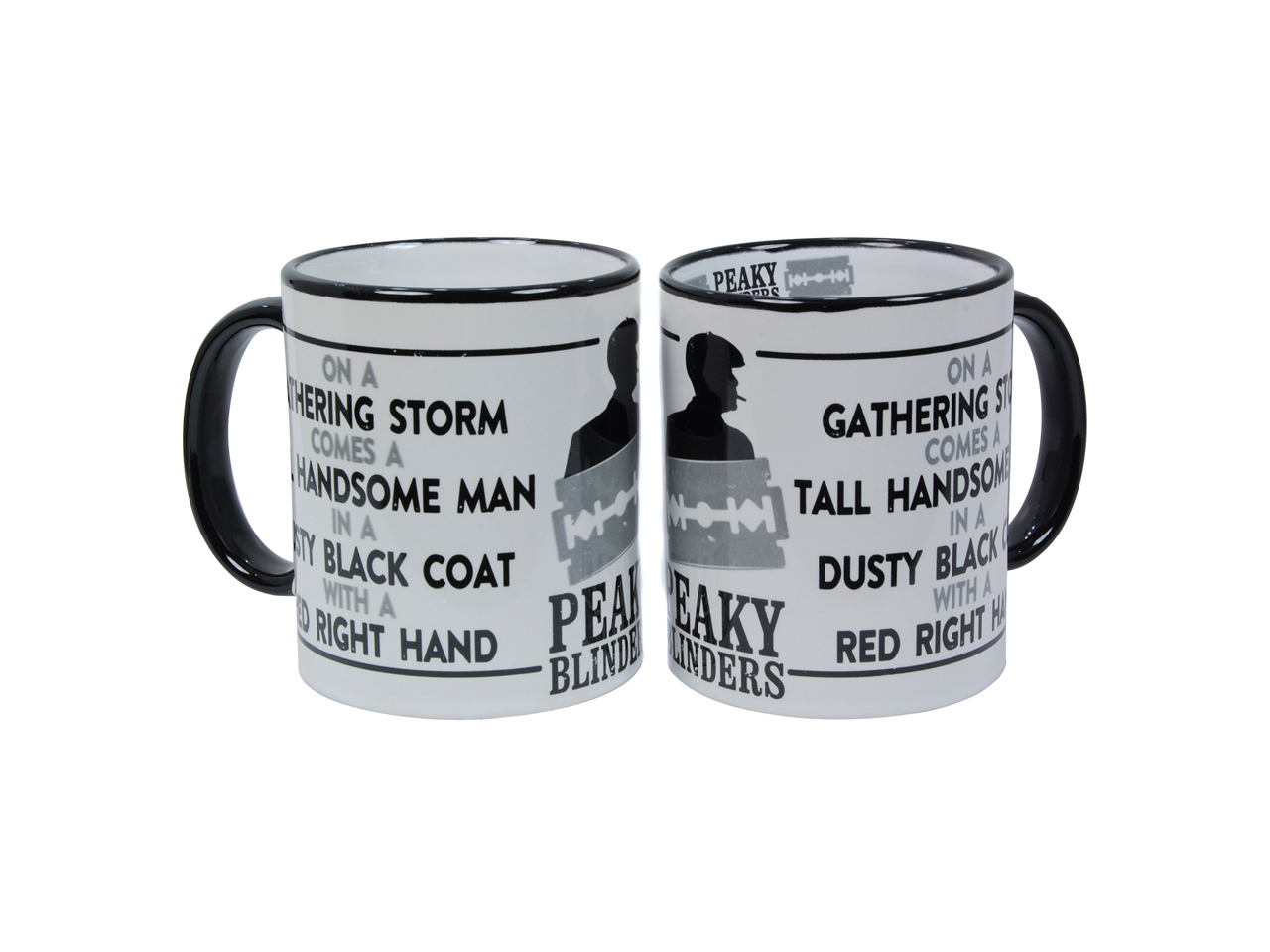 Peaky Blinders Red Right Hand On A Gathering Storm Mug Shelby By Order Of The Iconic Gangster British TV Kapow