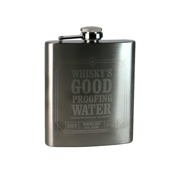 Peaky Blinders Whiskey's Good Hip Flask Iconic Gangster British TV