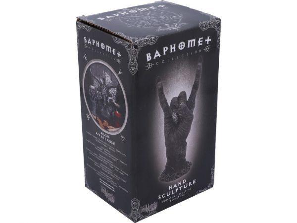 Baphomet Hand Sabbatic Goat Heavy Metal Spiritual Occult Nemesis Now