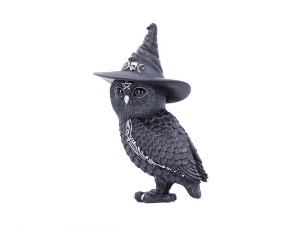 Owlocen Witch Owl Cult Cuties Cat Nemesis Now Baphomet Occult Witchcraft Familiar Spiritual Dark Spirits Figure Magic Pentagram