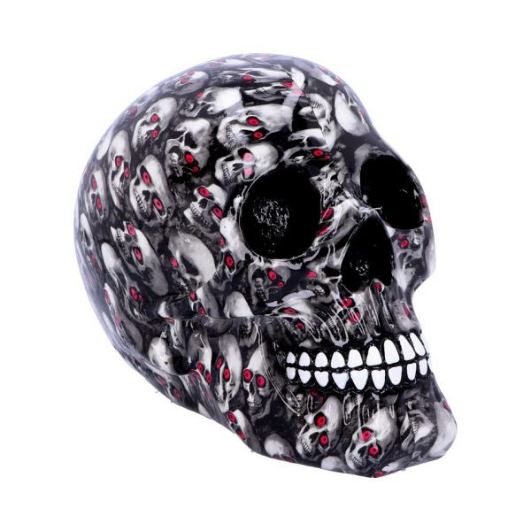 Bloodshot Skull Skeleton Red Eyes Horror Gothic Nemesis Now
