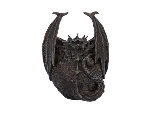 Draco Skull Draconic Dragon Cranium Crown Helmet Gothic Fantasy Viking Nemesis Now