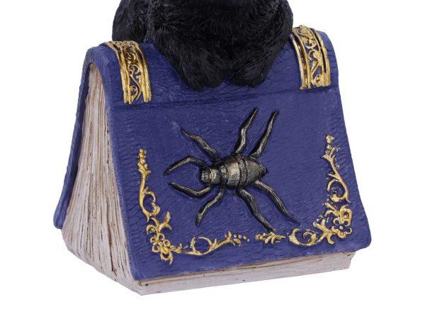 Pocus Cat Nemesis Now Grimoire Spell Book Occult Witchcraft Familiar Spiritual Dark Spirits Figure Magic