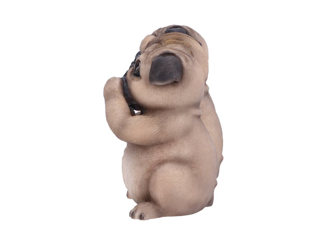 Three Wise Pugs Dog Confucius Figures See No Evil Hear No Evil Speak No Evil Nemesis Now