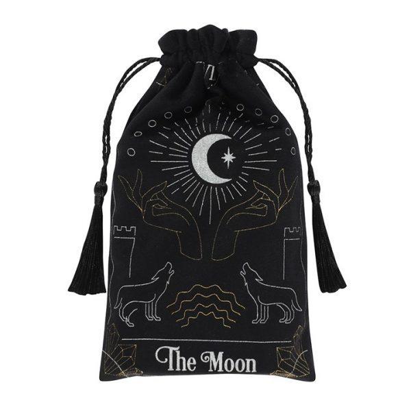 Tarot Card Bag - Black Moon
