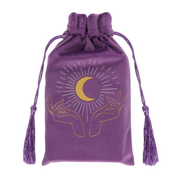 Tarot Bag - Purple Hands